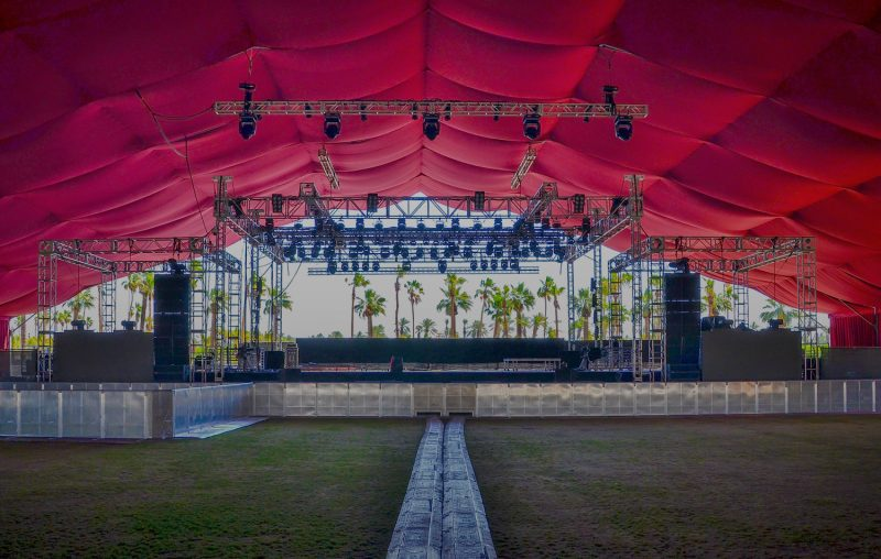All Access festival staging