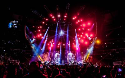 Behind the Build: Romeo Santos Golden Tour