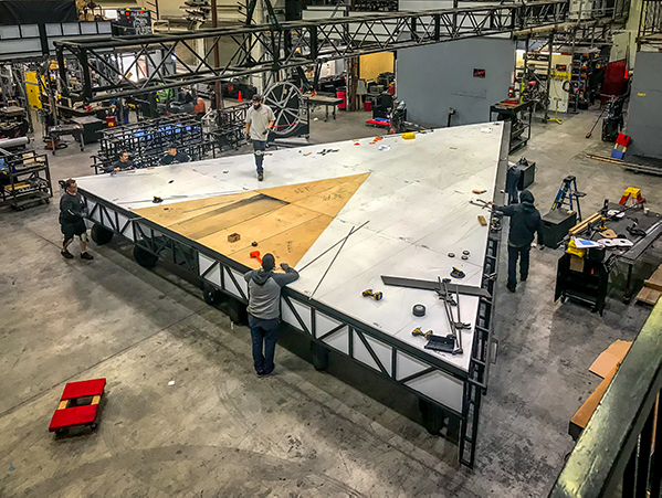 Behind the Build: Super Bowl LIII Halftime Show